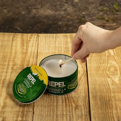 Repel Citronella Insect Outdoor Candle, 10 Oz.