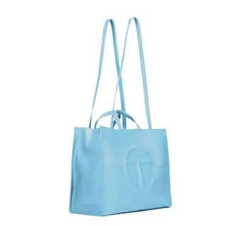 Telfar Blue Shopping Bag