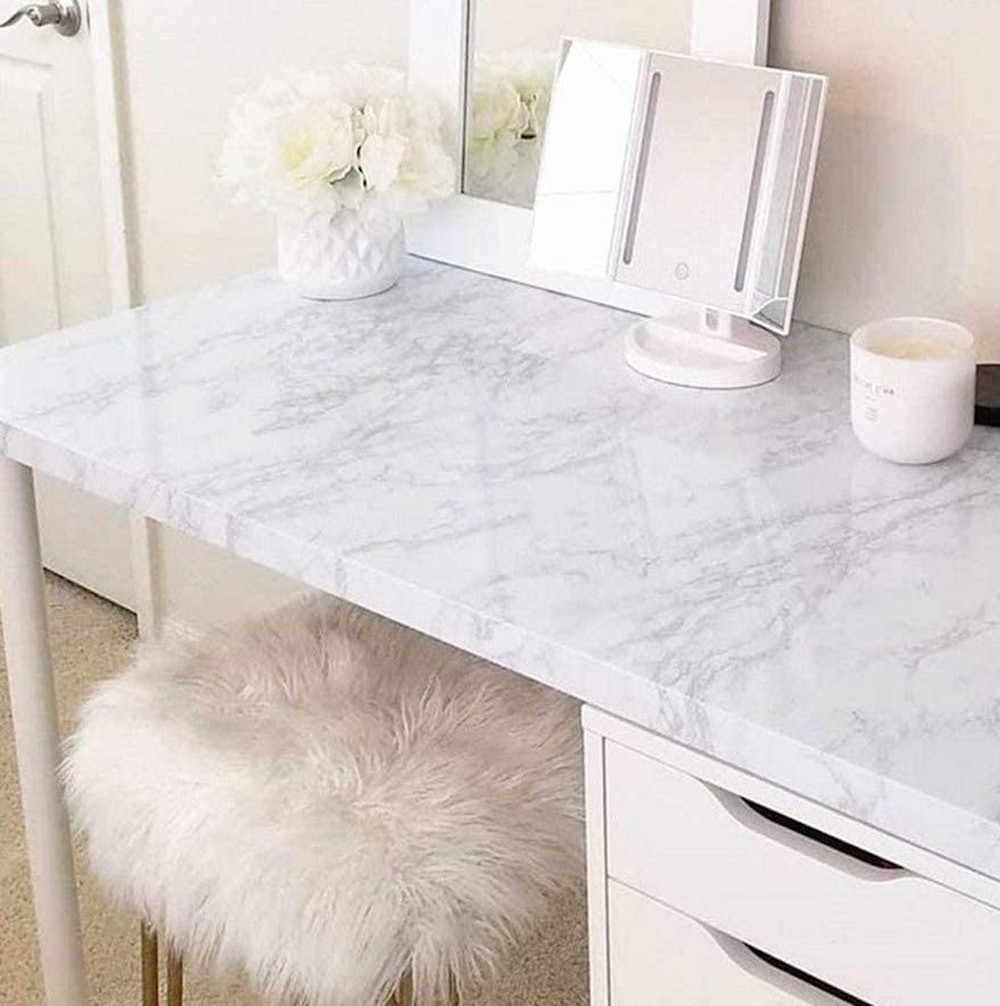 practicalWs Marble Contact Paper