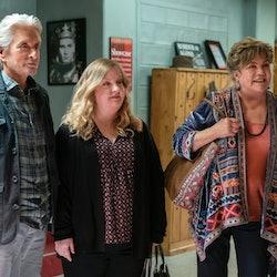 'The Kominsky Method' is officially returning for Season 3. Photo via Netflix