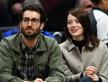 Emma Stone and Husband Dave McCary.