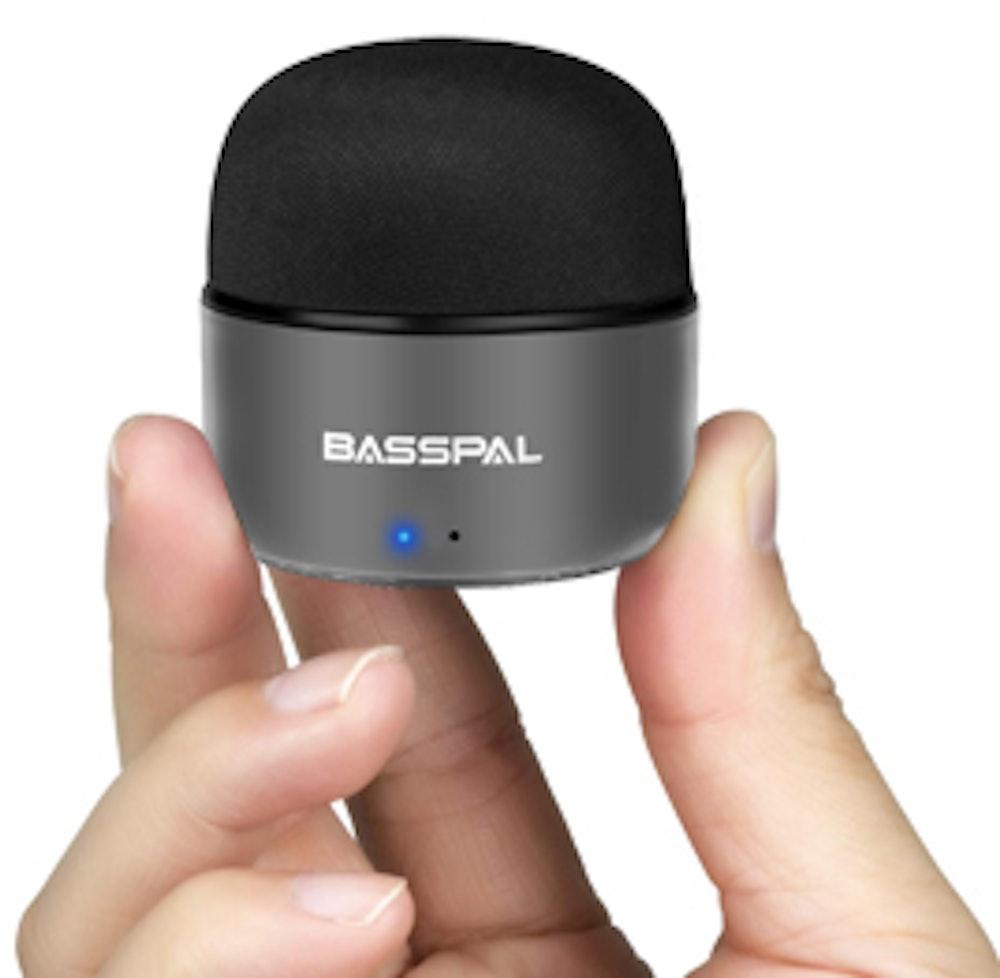 BassPal Portable Bluetooth Speakers (2-Pack)