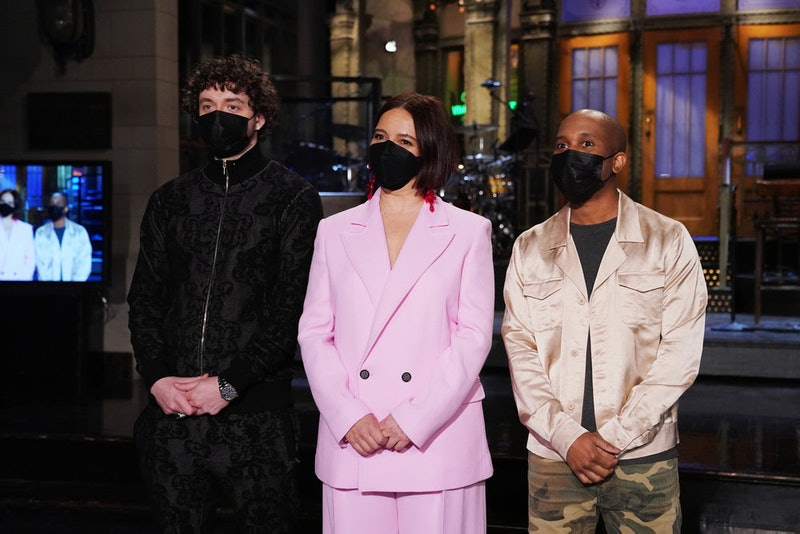 Maya Rudolph hosted the March 27 episode of 'SNL' alongside musical guest Jack Harlow. Photo via NBC