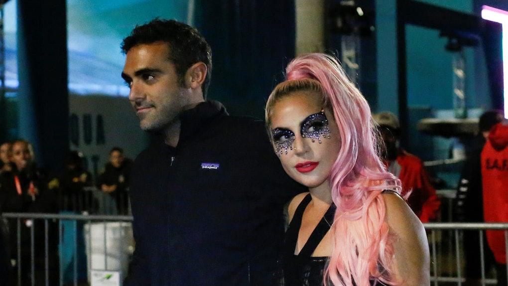 Lady Gaga and Michael Polansky.