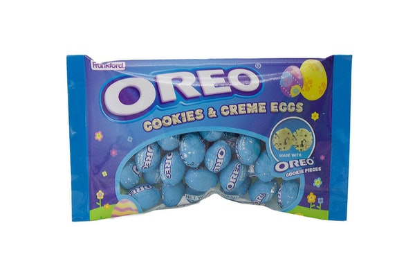 Oreo's Cookies and Creme Eggs for Easter 2021 won't be around long.