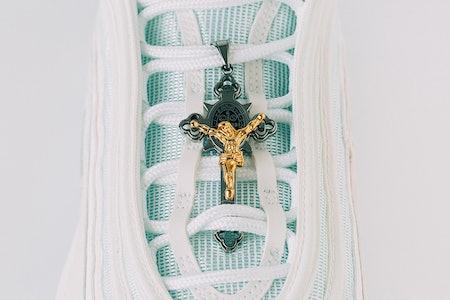 Lil Nas X Satan Shoes MSCHF Jesus Shoes