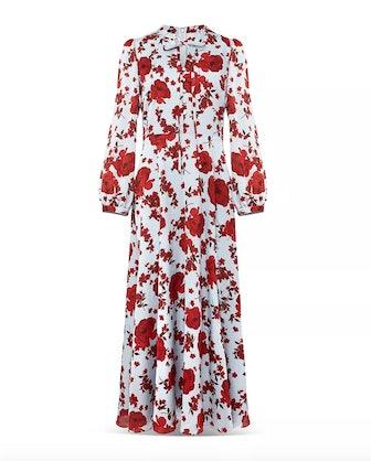 Polly Floral Midi Dress