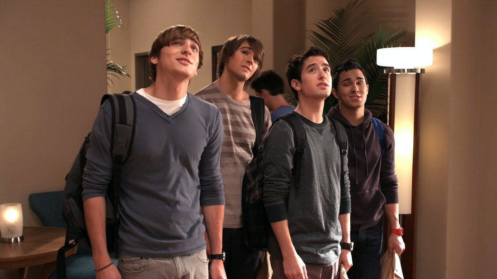 Netflix added all seasons of the Nickelodeon show 'Big Time Rush' at the end of March 2021.