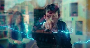 snyder cut the flash scene