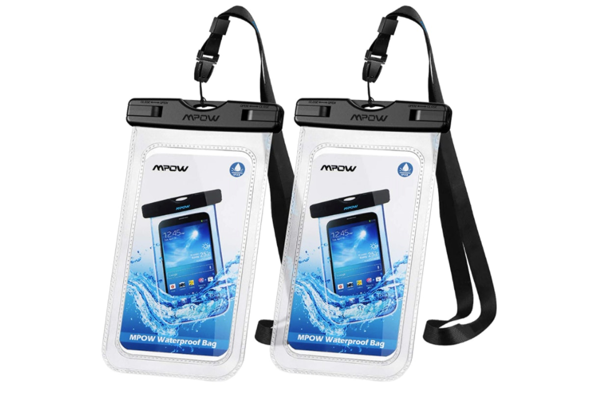 Mpow Universal Waterproof Case (2-Pack)