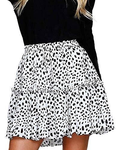 Alelly High Waist Ruffle Mini Skirt