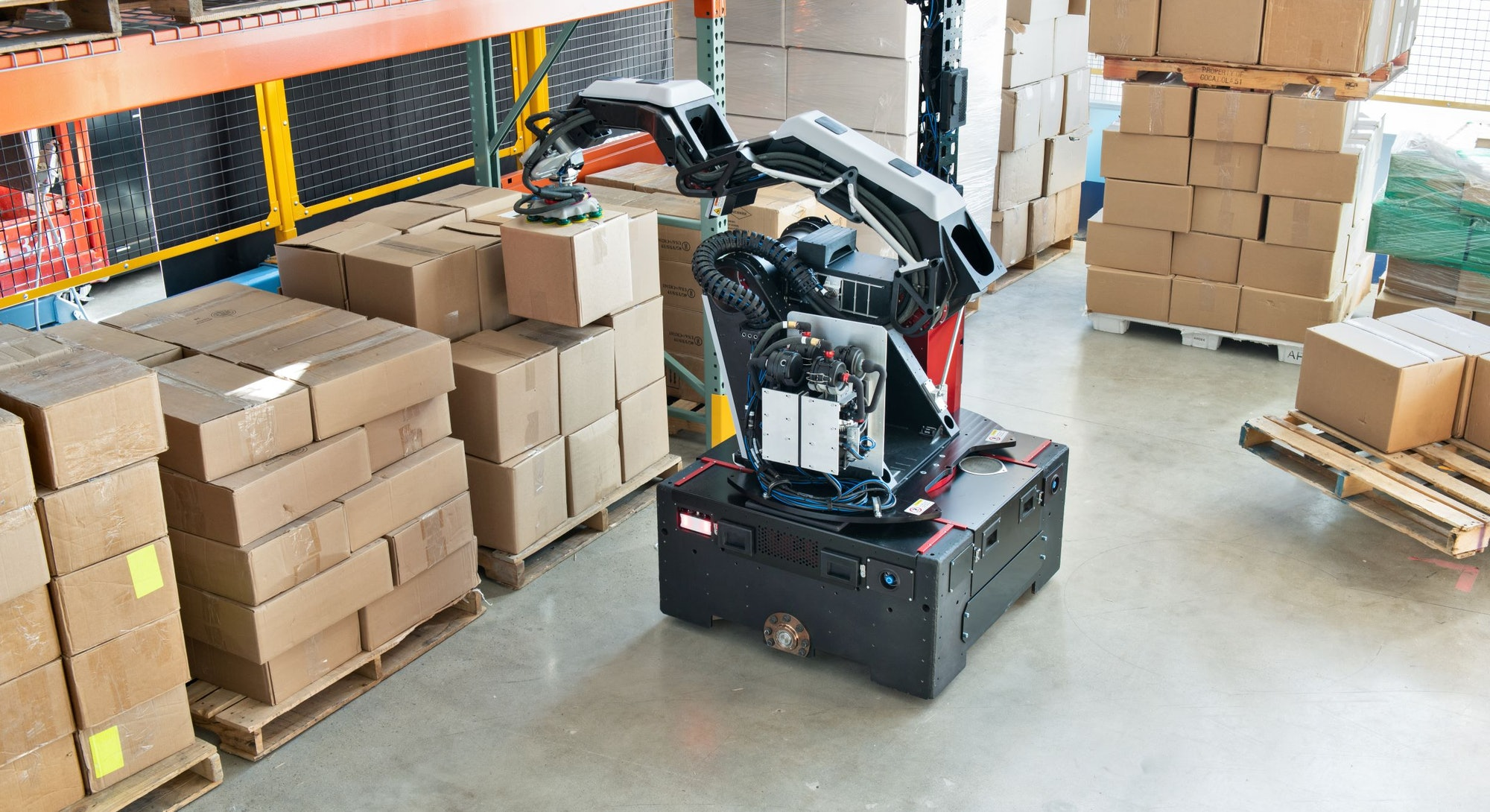 Boston Dynamics new warehouse robot, Stretch. Boston Dynamics. Robot. Robotics.