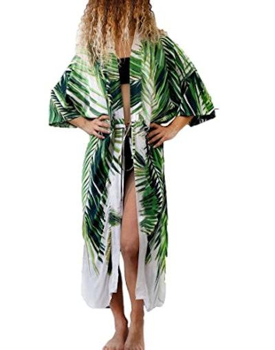 Bsubseach Chiffon Bikini Cover Up