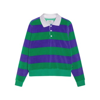 Andre Velour Polo