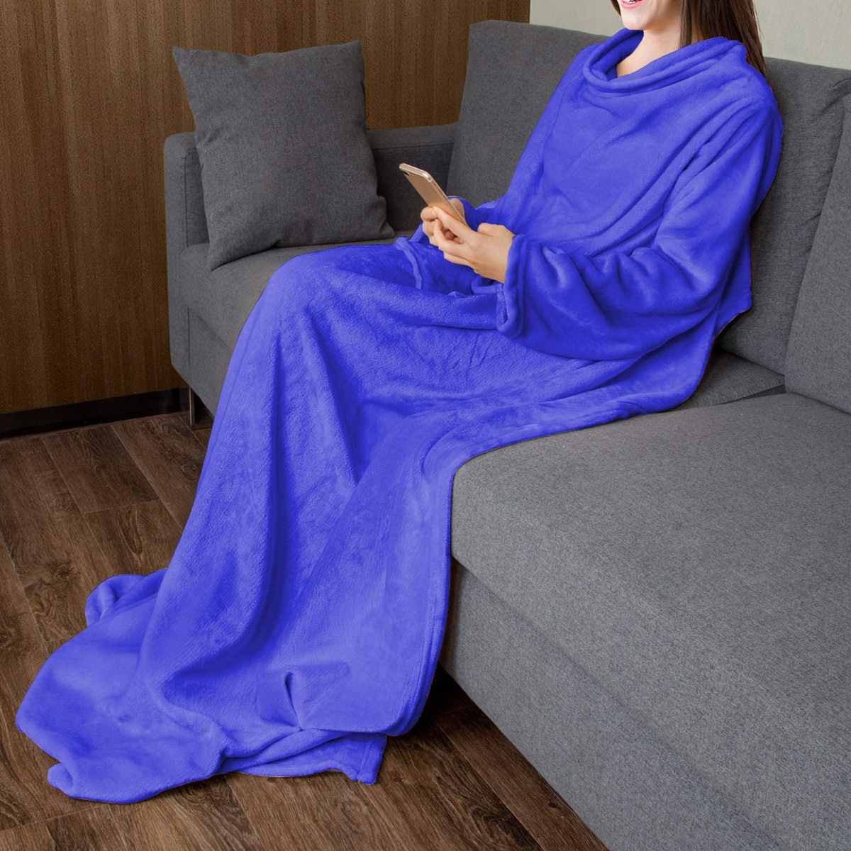 Catalonia Wearable Blanket with Sleeves
