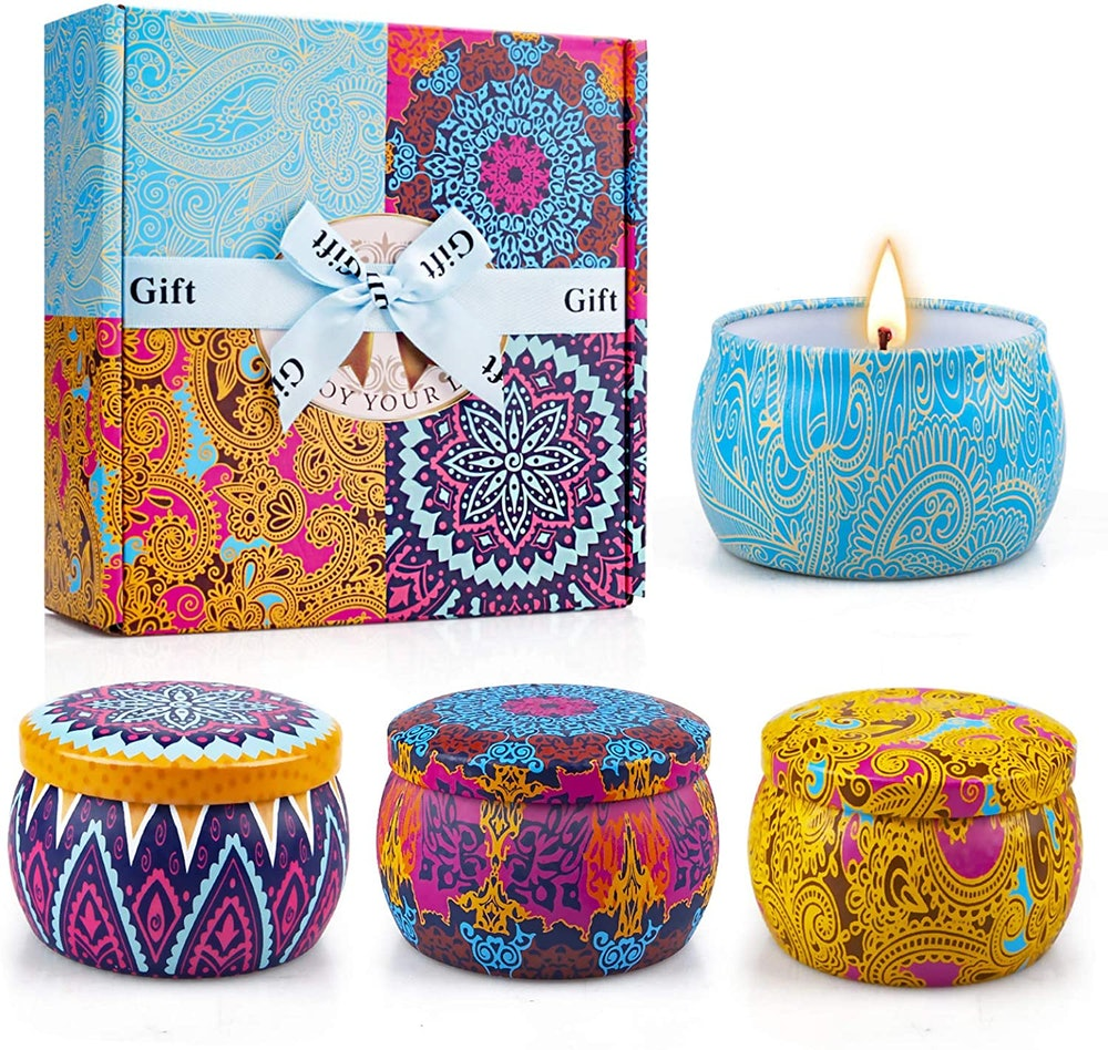 Yinuo Candle Scented Candles (4-Pack)