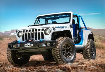 Jeep Wrangler magneto ev concept