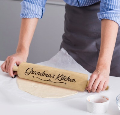 MyPersonalMemories Personalized Rolling Pin