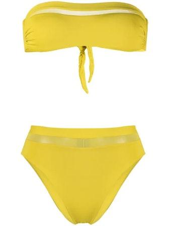 Strapless Bikini Set