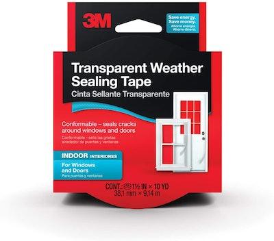 3M Interior Transparent Weather Sealing Tape