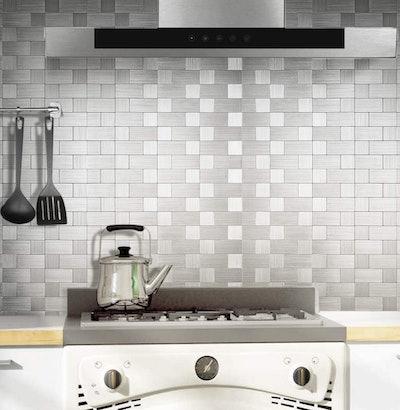 Yipscazo Peel & Stick Tile Backsplash (5 Sheets)