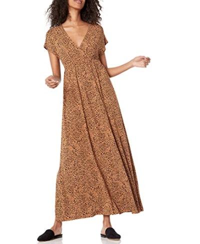 Amazon Essentials Surplice Maxi Dress