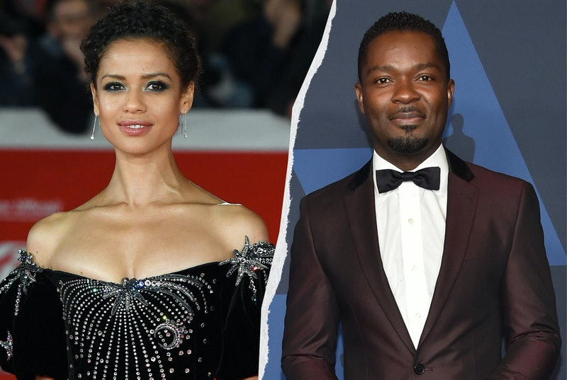 Gugu Mbatha-Raw arrives on the red carpet for the film 'Motherless Brooklyn' at the Rome Film Festival 2019  / British-US actor David Oyelowo arrives to attend the 11th Annual Governors Awards gala hosted by the Academy of Motion Picture Arts and Sciences at the Dolby Theater in Hollywood on October 27, 2019
