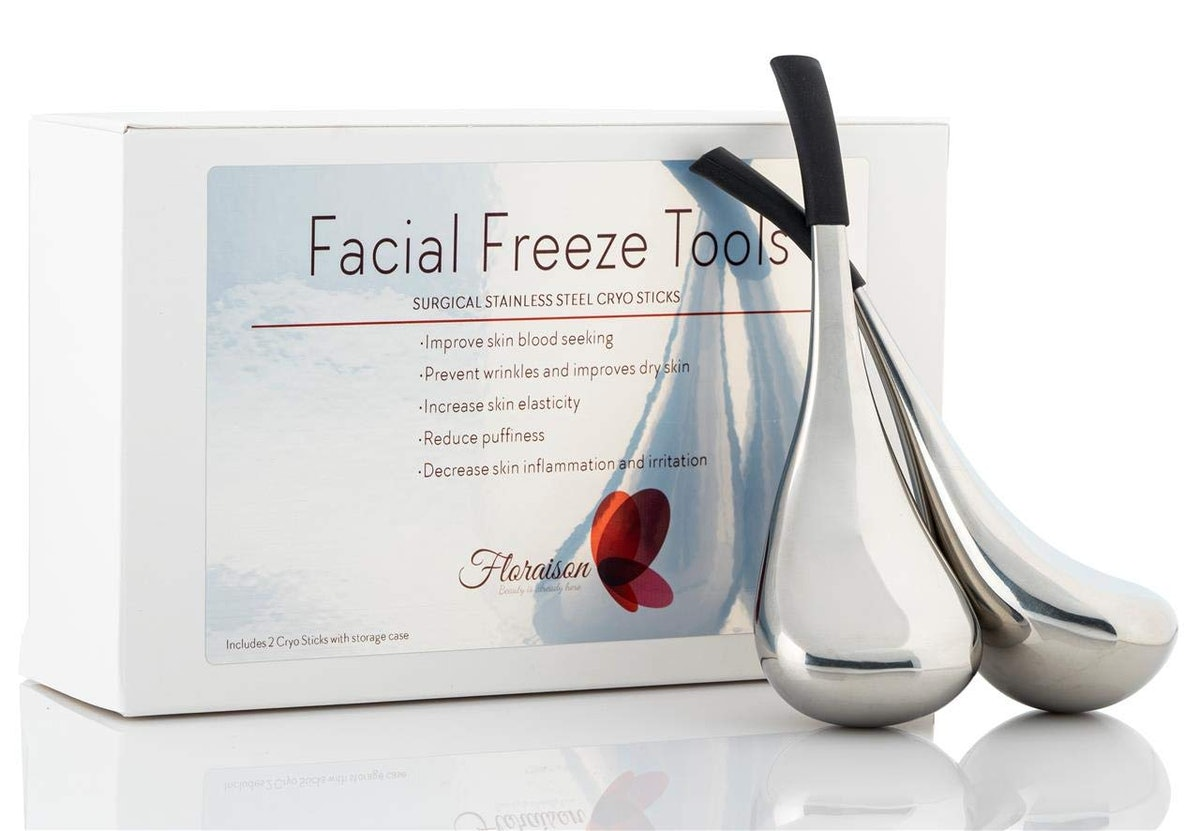 Floraison Unbreakable Stainless Steel Cooling Beauty Facial Sticks