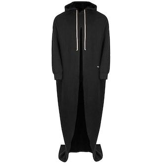 DRKSHDW Peter Hooded Cloak In Black