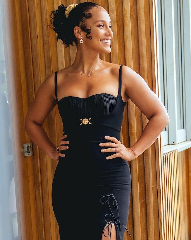 Alicia Keys at the 2021 NAACP Image Awards.