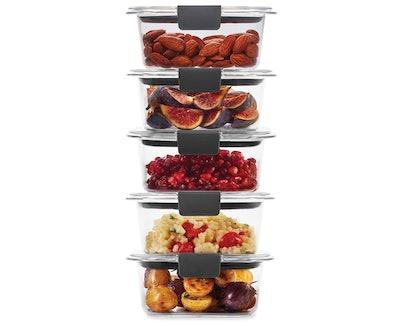 Rubbermaid Leak-Proof Food Storage Set (5-Pack)