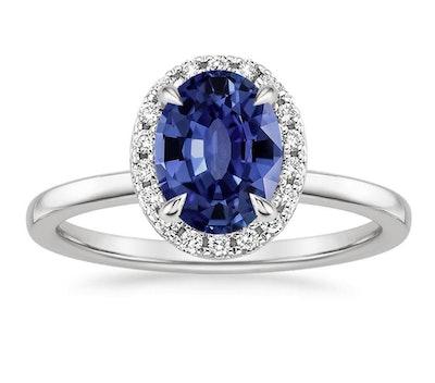 Sapphire Vienna Diamond Ring