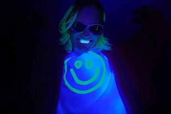 Balenciaga glow-in-the-dark tee