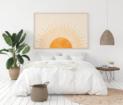 Boho Horizontal Sun Print