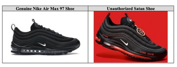 Nike Satan Shoes Lil Nas X MSCHF lawsuit