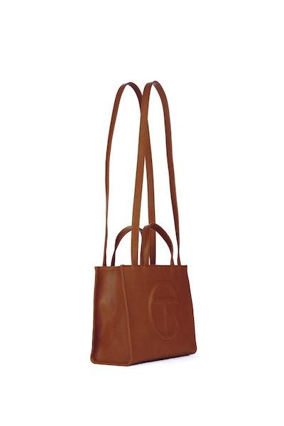 Medium Tan Shopping Bag