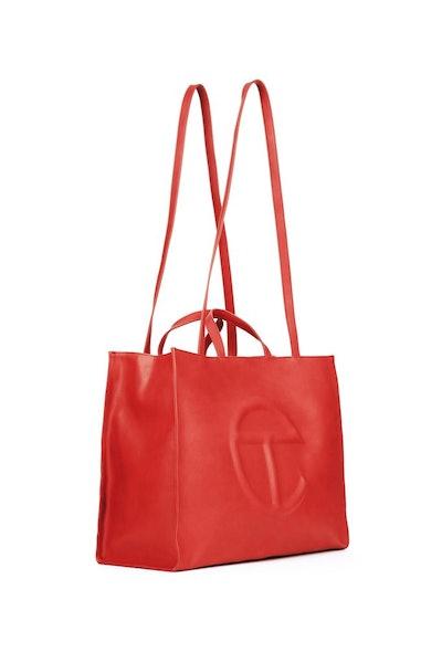 Large Red Shopping Bag