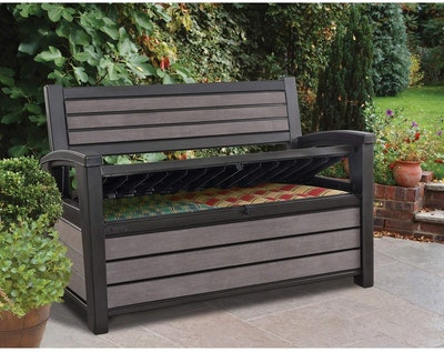 Keter Hudson Storage Bench