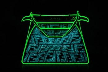 Fendi glow-in-the-dark Peekaboo bag