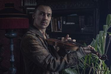 Henry Lloyd-Hughes as Sherlock Holmes in The Irregulars