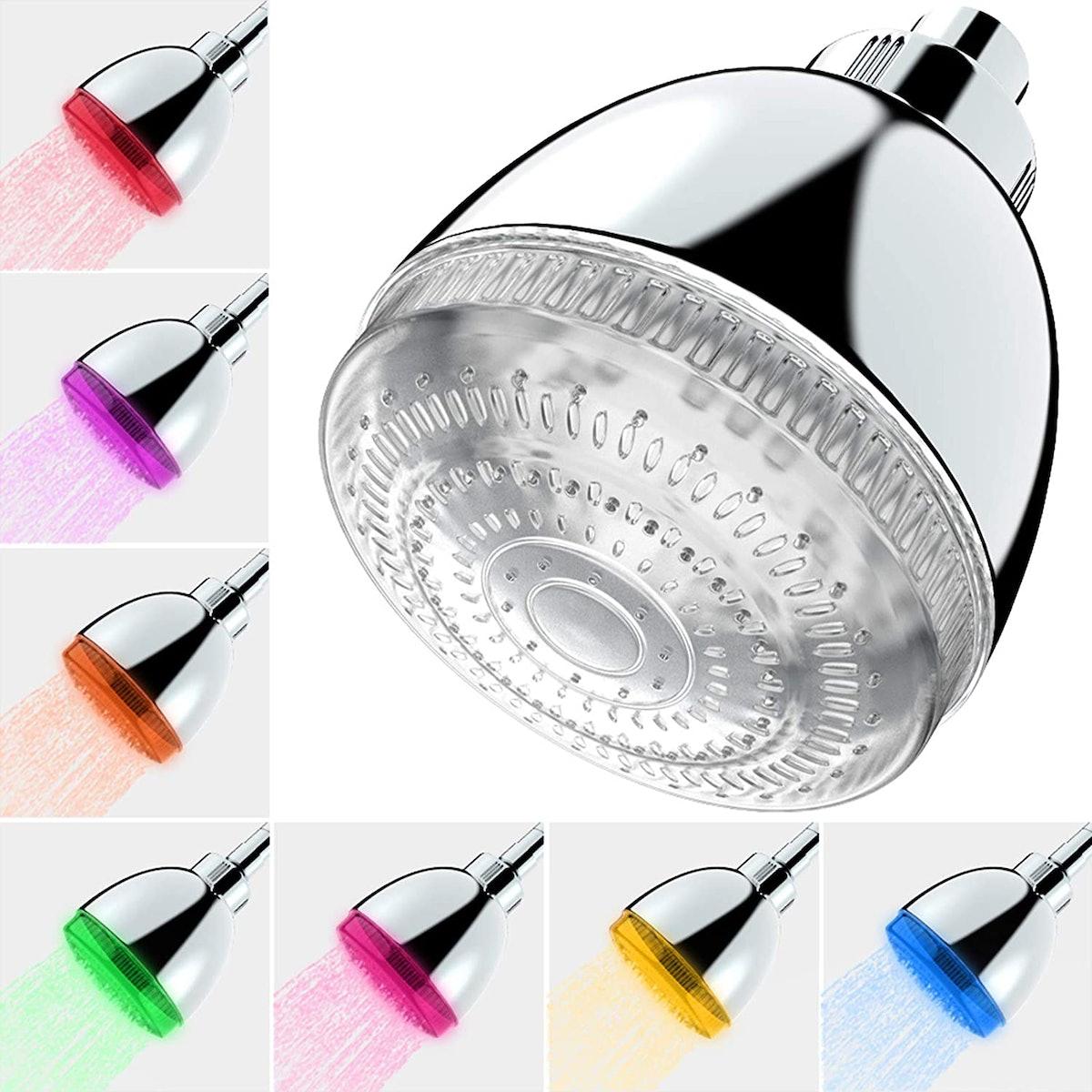 Milky House LED Shower Head
