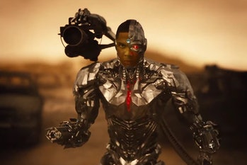 Cyborg in a later scene from the Snyder Cut.