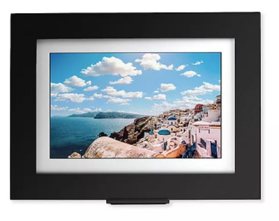 Brookstone® PhotoShare Friends and Family Large Smart Frame in Black