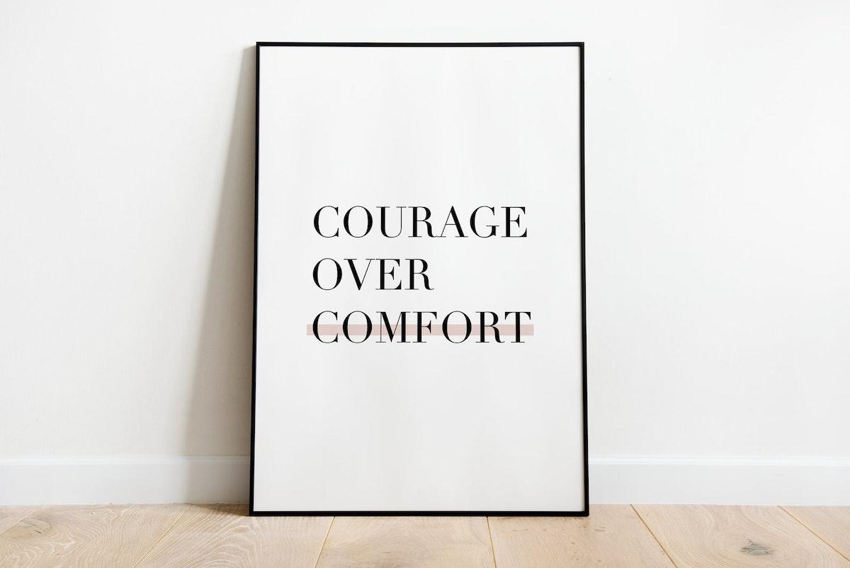 Courage | Printable wall art