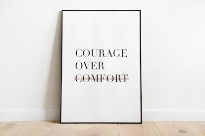 Courage   Printable wall art