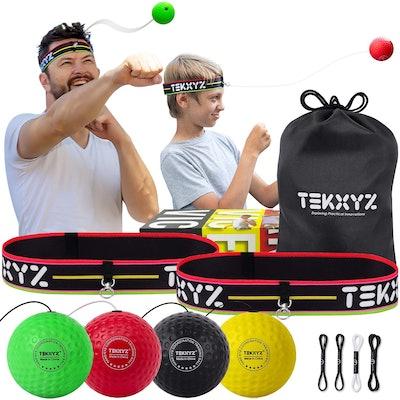 TEKXYZ Boxing Reflex Balls Set
