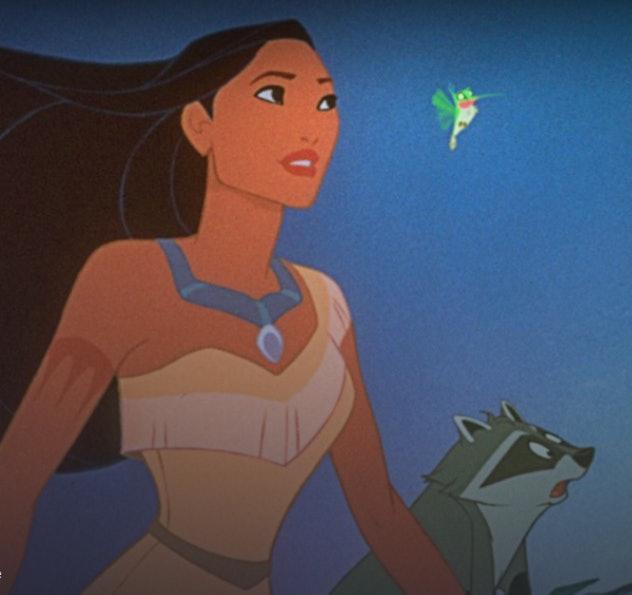 Watch 'Pocahontas' on Disney+.