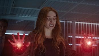Elizabeth Olsen as Wanda Maximoff in WandaVision Episode 8