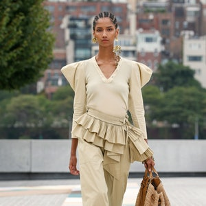 Look 29 from Ulla Johnson's Spring 2021 Ready-To-Wear Collection.