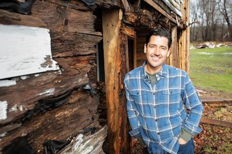 Jonathan Knight on 'Farmhouse Fixer' via HGTV Press Site